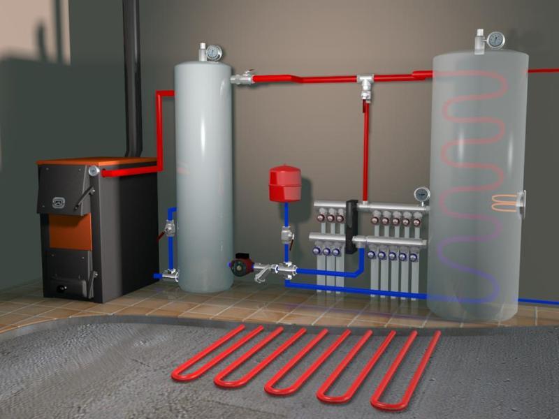 Монтаж автономного отопления в Херсоне и области