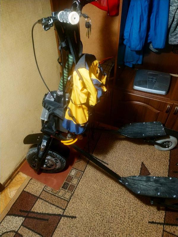 E-самокат trike