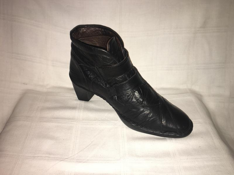 Ботинки *josef seibel* кожа венгрия р.41 ( 27.00 см) - Фото 5