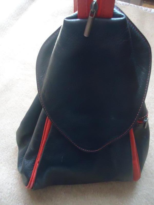 Кожаный рюкзак сумка