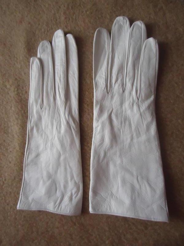 Кожаные перчатки christian dior