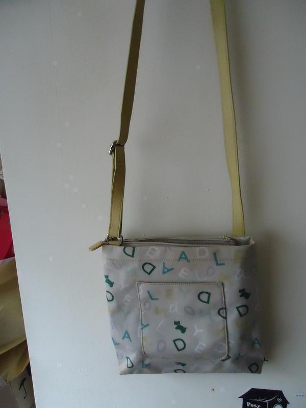 Фирменная комбинированая сумка мессенджер radley
