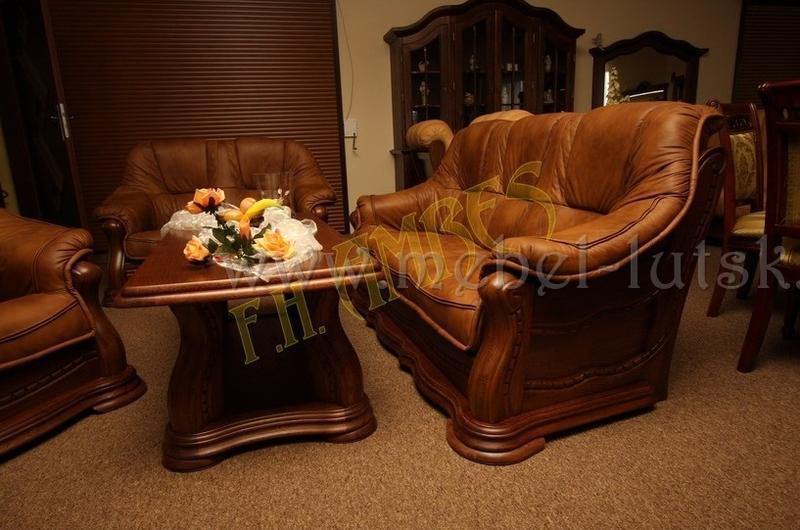 Новый кожаный диван и два кресла Warkos - Фото 2