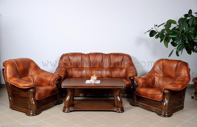 Новый кожаный диван и два кресла Warkos - Фото 4
