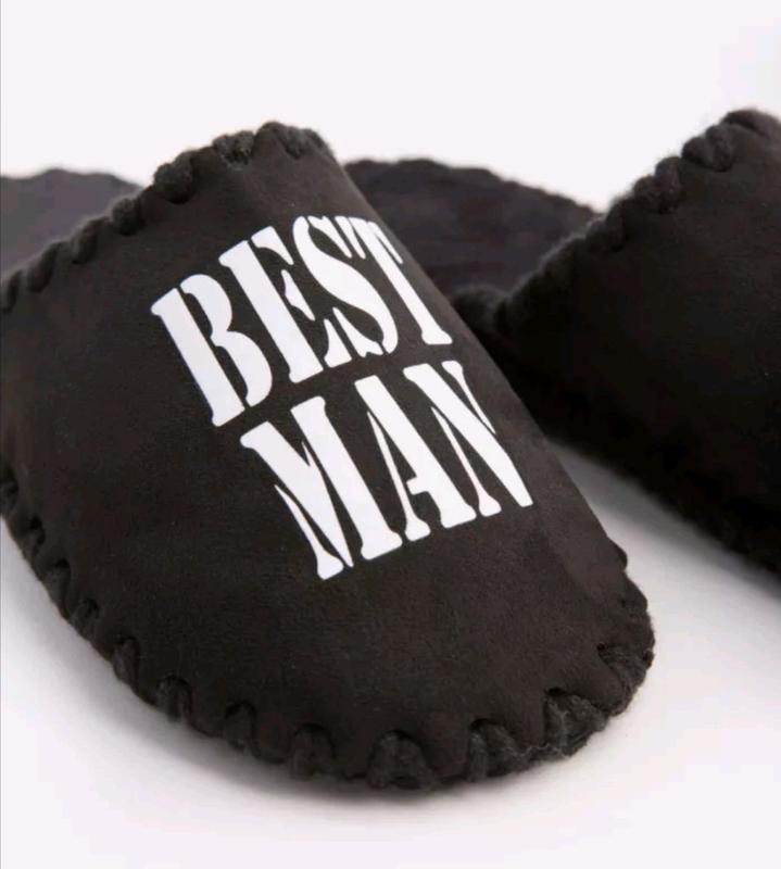 Мужские тапочки для дома