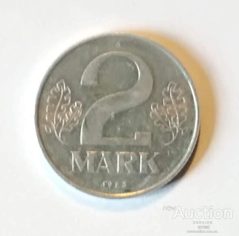 2 марки 1983 А ГДР