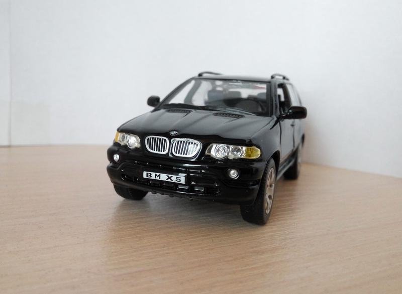 Модель BMW X5, Cararama/Hongwell, масштаб 1/43