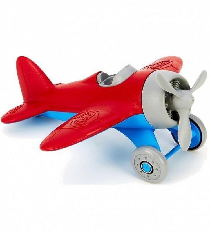 """ЭКО Игрушка """"Красный самолет"""" Green toys"""