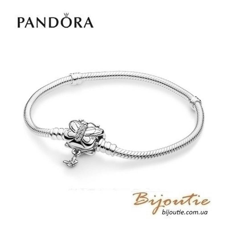 Браслет Pandora ― БАБОЧКА #597929CZ