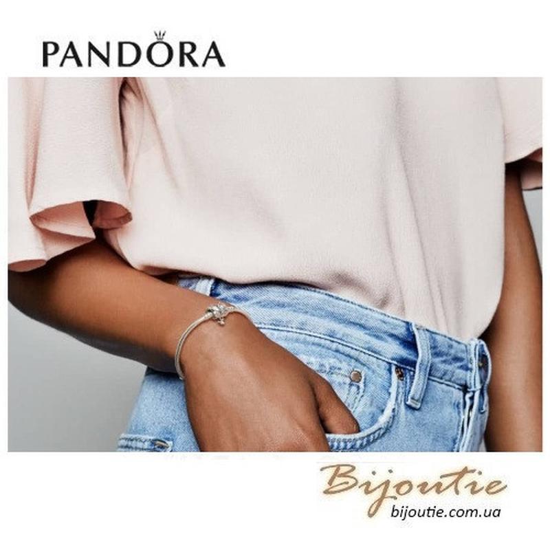Браслет Pandora ― БАБОЧКА #597929CZ - Фото 2