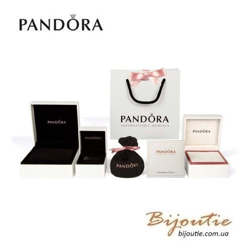 Браслет Pandora ― БАБОЧКА #597929CZ - Фото 3