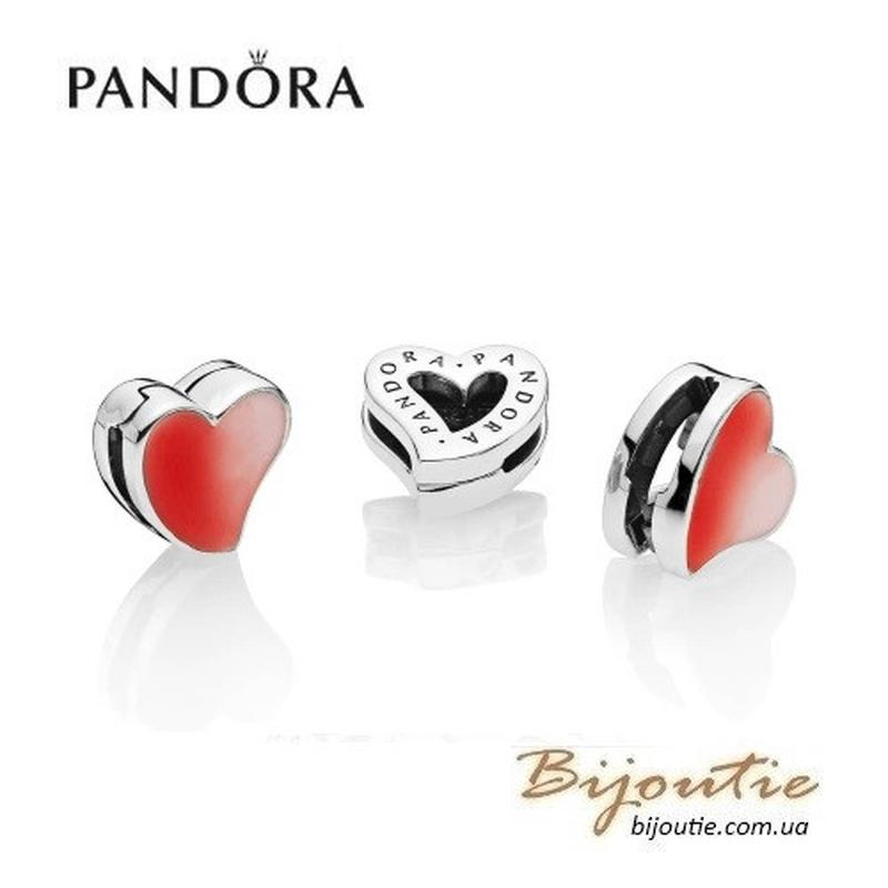 PANDORA шарм-клипсаREFLEXIONS ― сердце любви  797809ENMX - Фото 2