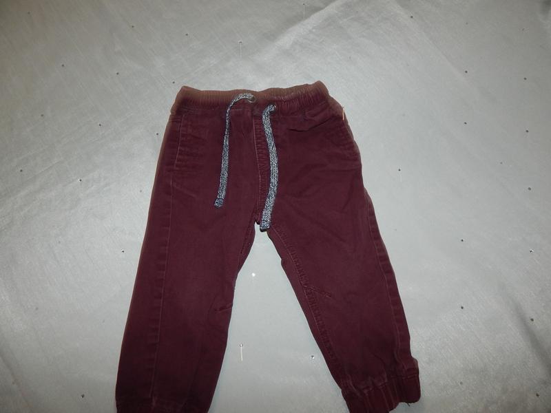 Matalan джинсовые штанишки на мальчика 12-18 мес