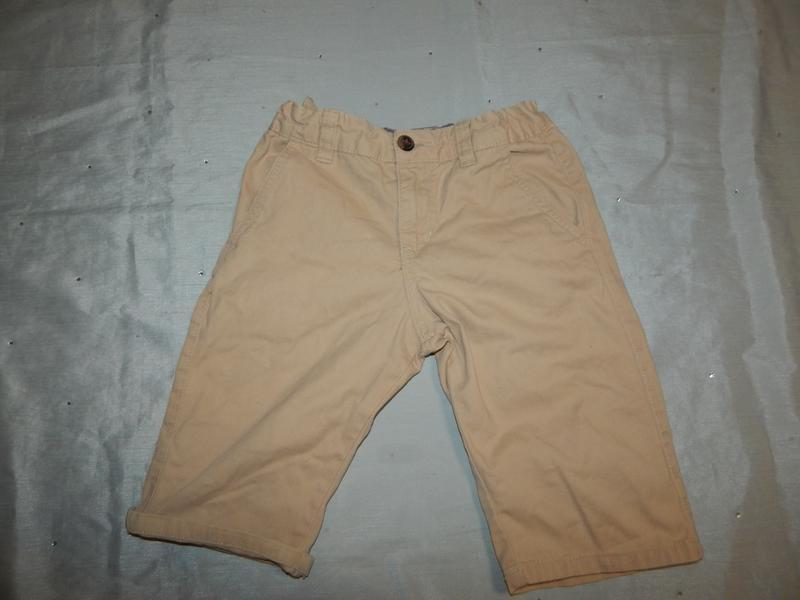 Шорты на мальчика модные, чиносы 8-9 лет 134 см regular