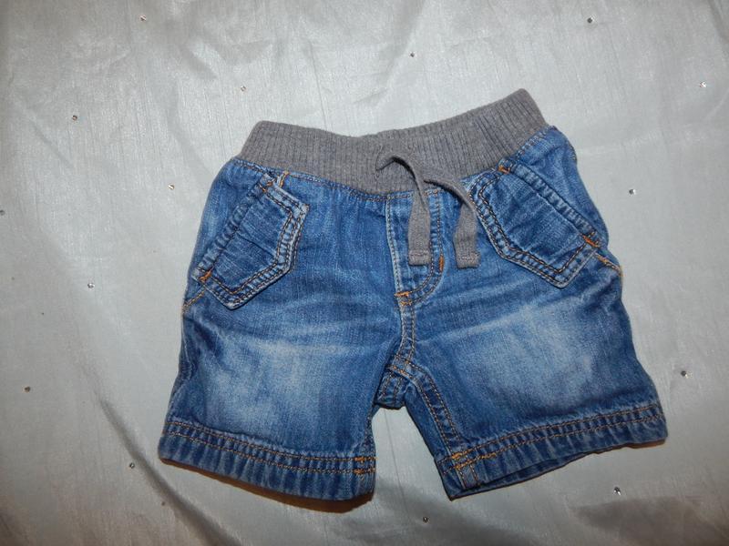 Шотры джинсовые на мальчика 1-1,5 года gap baby