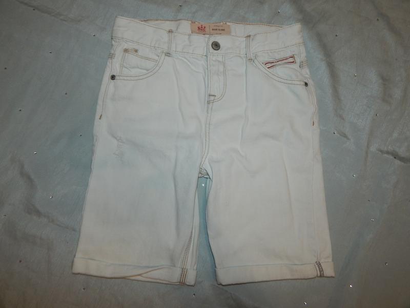 Шорты  джинсовые модные на мальчика 11-12 лет 152см