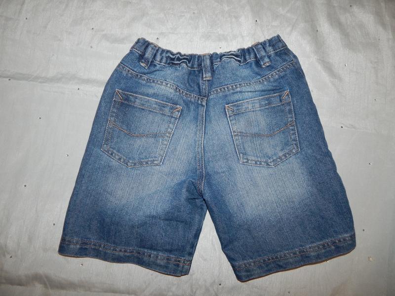 Шорты джинсовые на мальчика 9-10 лет 135-140см
