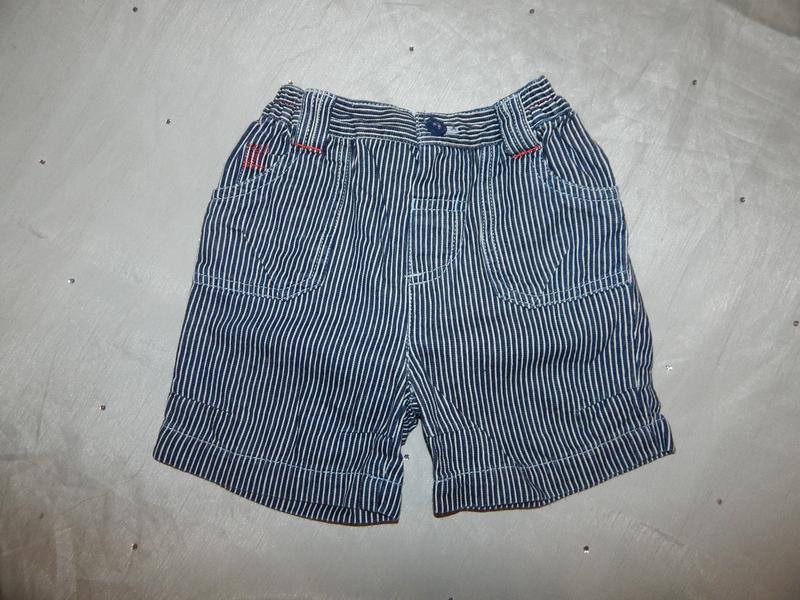 Шорты джинсовые на малыша 3-6 мес