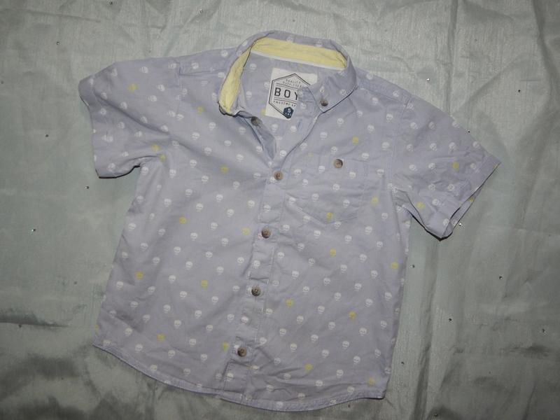 Рубашка на мальчика модная 5 лет