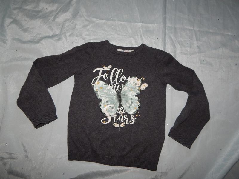 Реглан токий свитер на девочку 4-6 лет 110-116