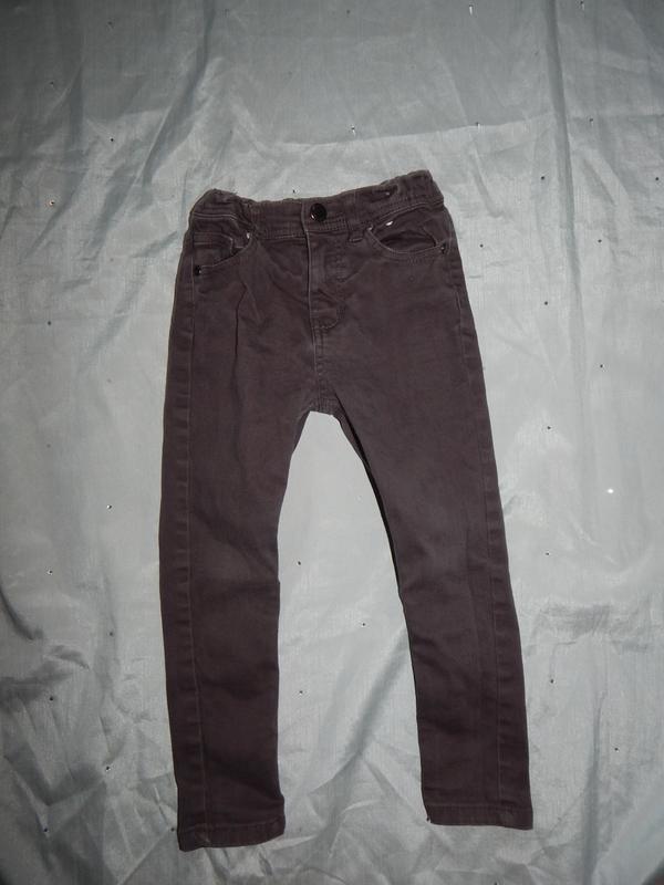 Джинсы skinny модные на мальчика 5-6 лет 116см