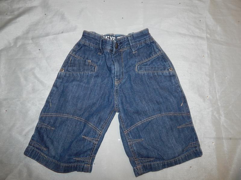 Шорты джинсовые на мальчика 4 года 104см