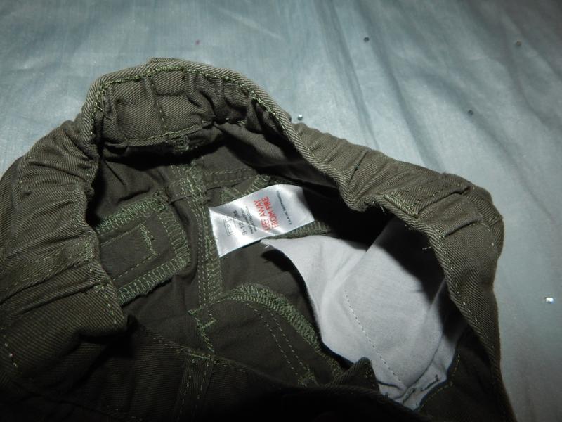 Штанишки брюки коттоновые на малыша 9-12 мес 80см - Фото 2