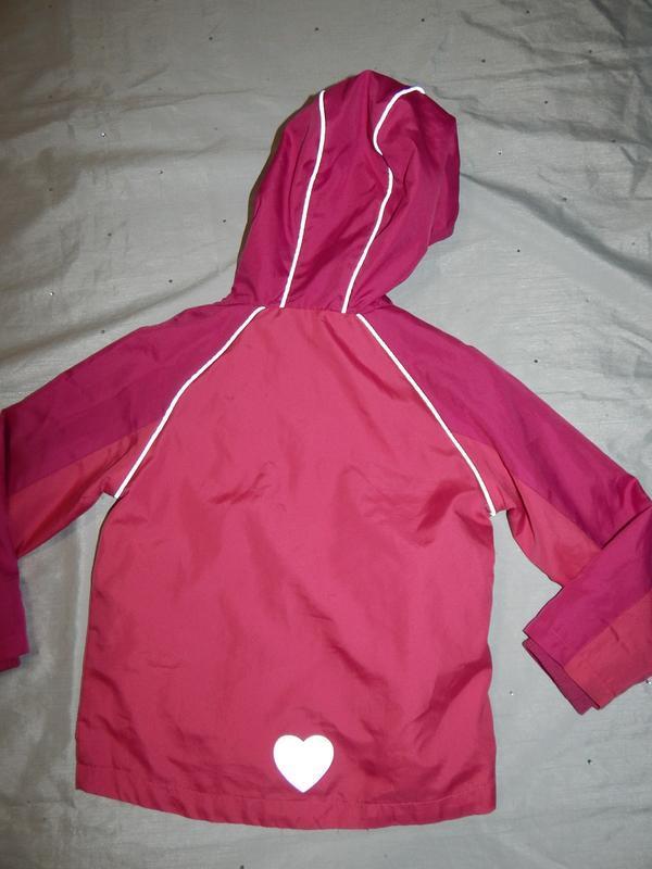 Куртка ветровка на девочку 4-5 лет 104-110см - Фото 2