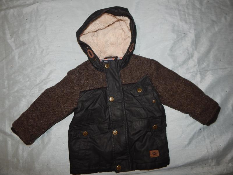 Куртка на малыша деми 12-18мес 86см