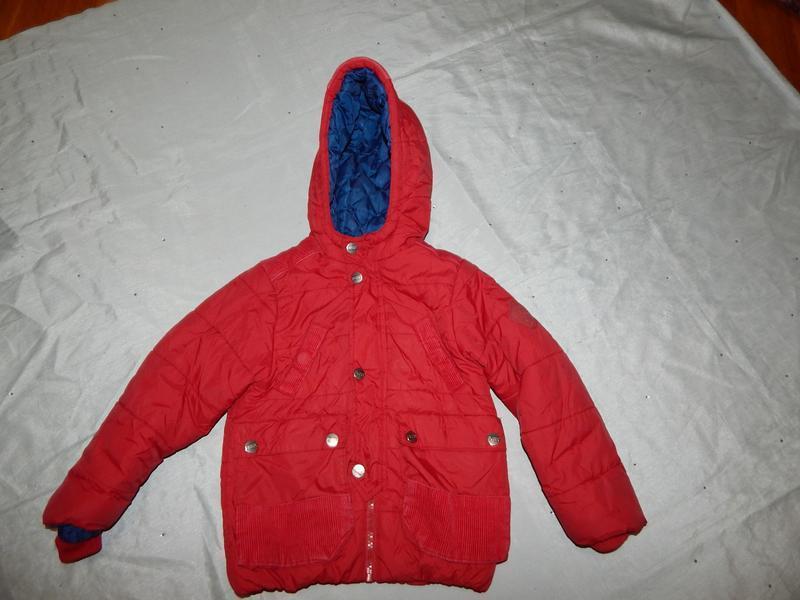 Куртка на мальчика 3-4 года  демисезонная  puffa