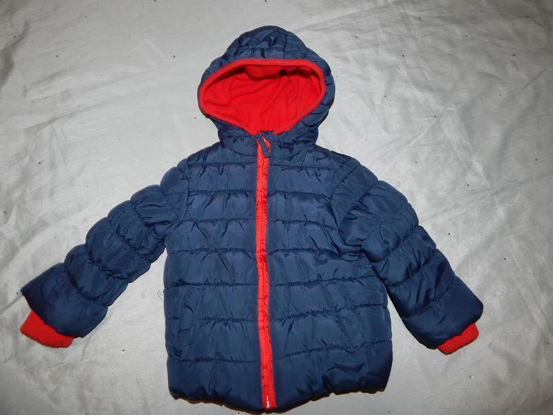 Куртка демисезонная на малыша 9-12 мес