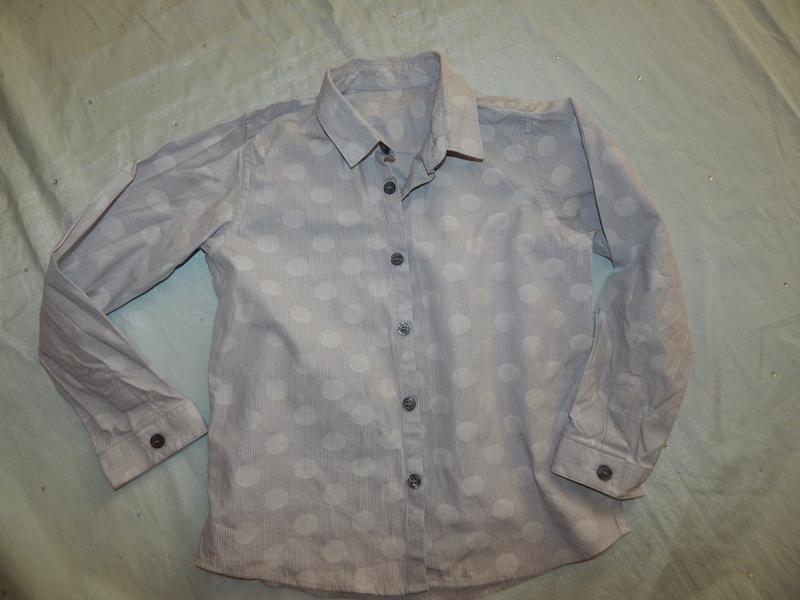 Рубашка на мальчика 5-6 лет 116см