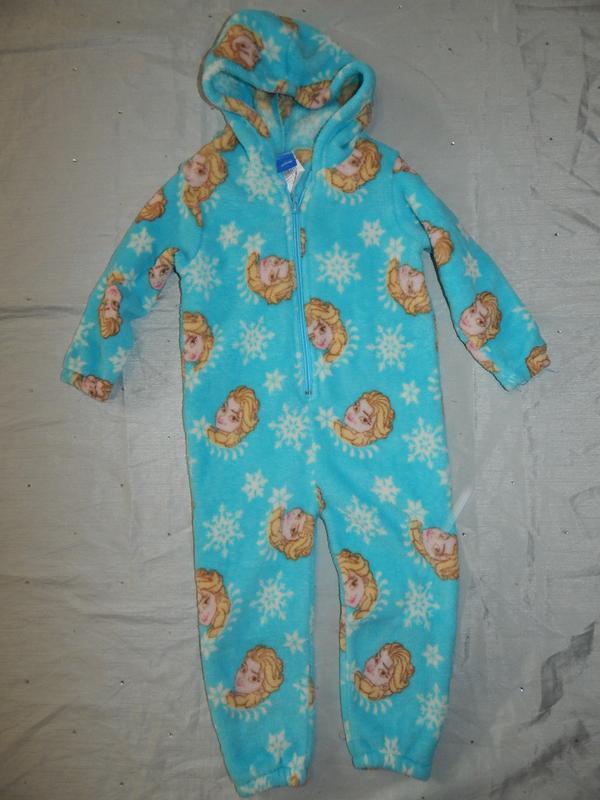 Пижама плюшевая человечек2-3 года disney