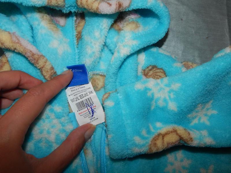 Пижама плюшевая человечек2-3 года disney - Фото 2