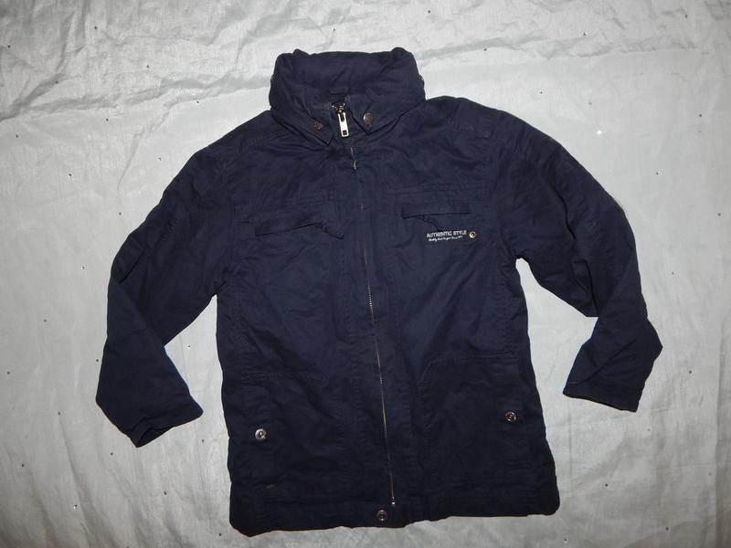 Куртка демисезонная на мальчика 6 лет 116см
