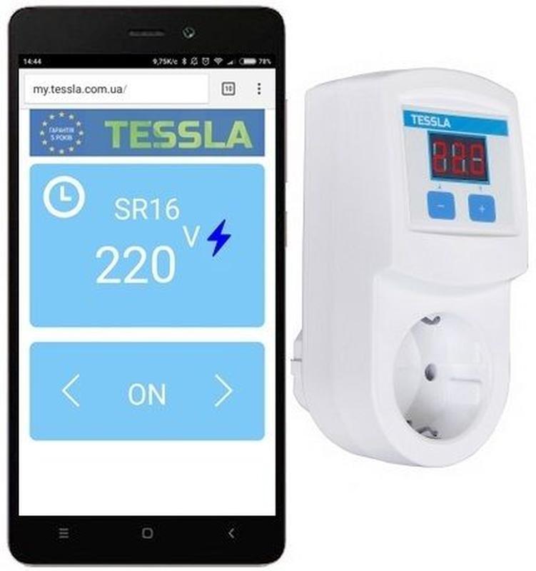 Умная розетка TESSLA SR16 Wi-Fi