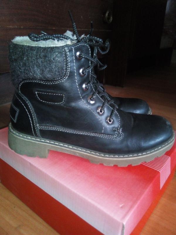 Детские зимние ботинки р.37