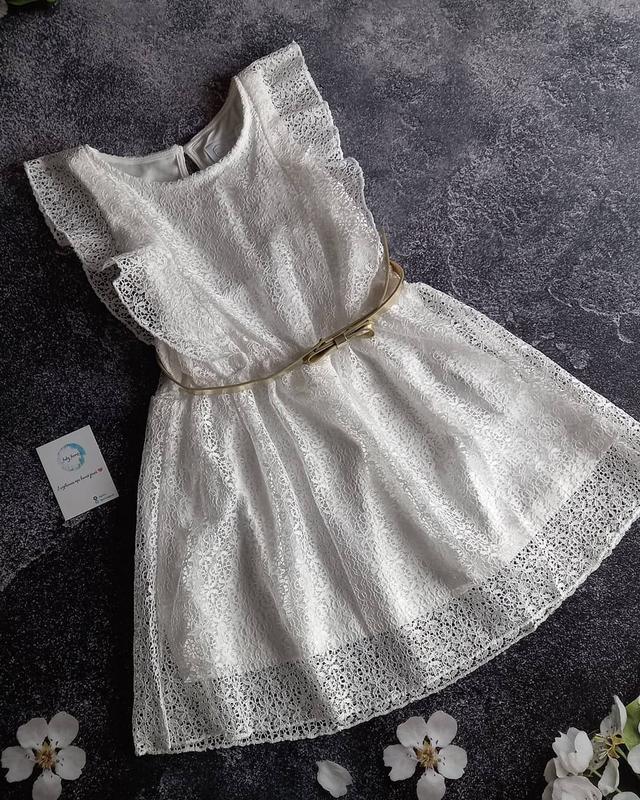 Нарядное платье на девочку 6/7 лет