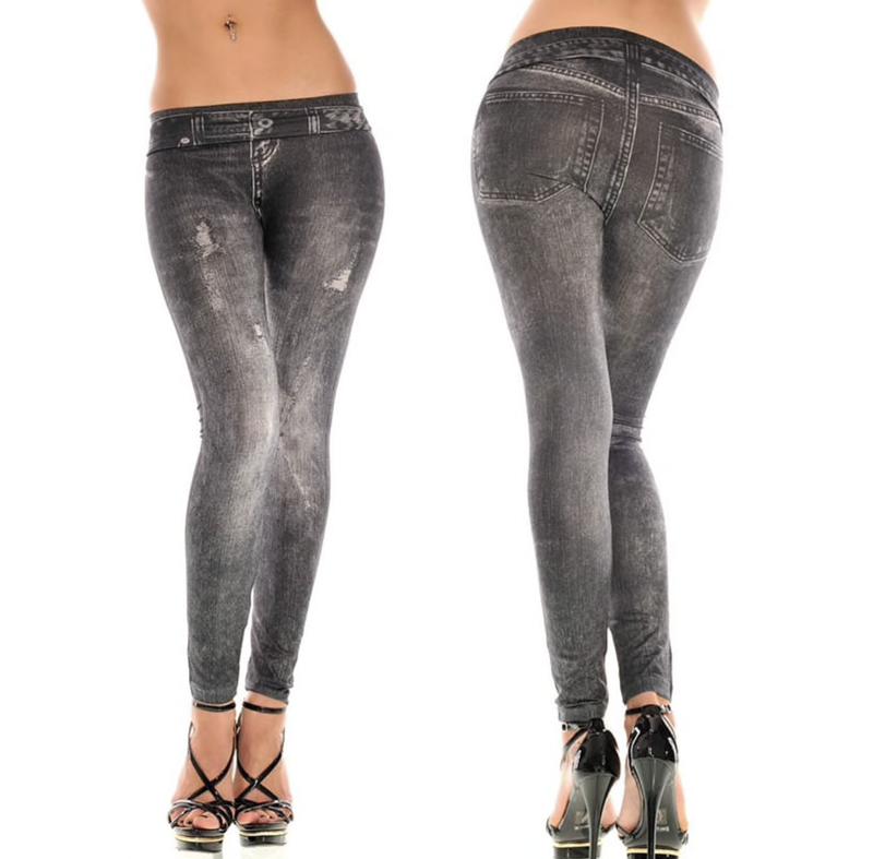 Лосины, леггинсы с потертостями, джегинсы, джинсы, джеггинсы, ...