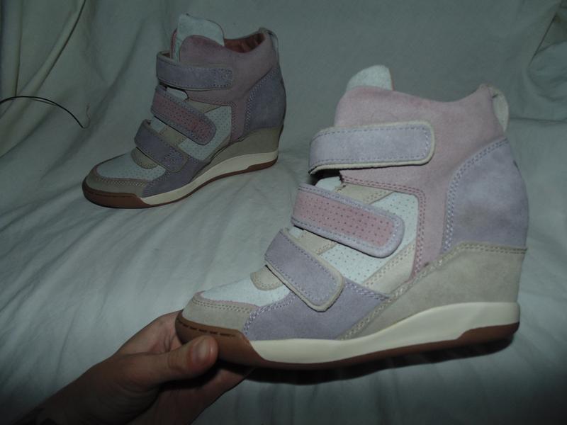 Сникерсы кеды кроссовки туфли замшевые полностью ash оригинал
