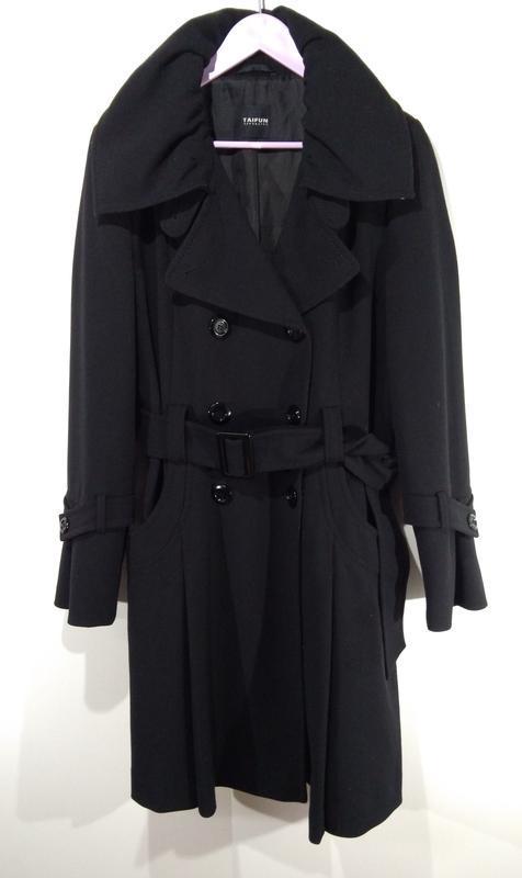 Пальто весна - осень на пуговицах размер 44