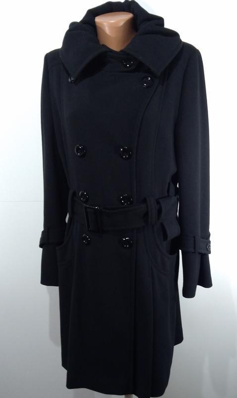 Пальто весна - осень на пуговицах размер 44 - Фото 7