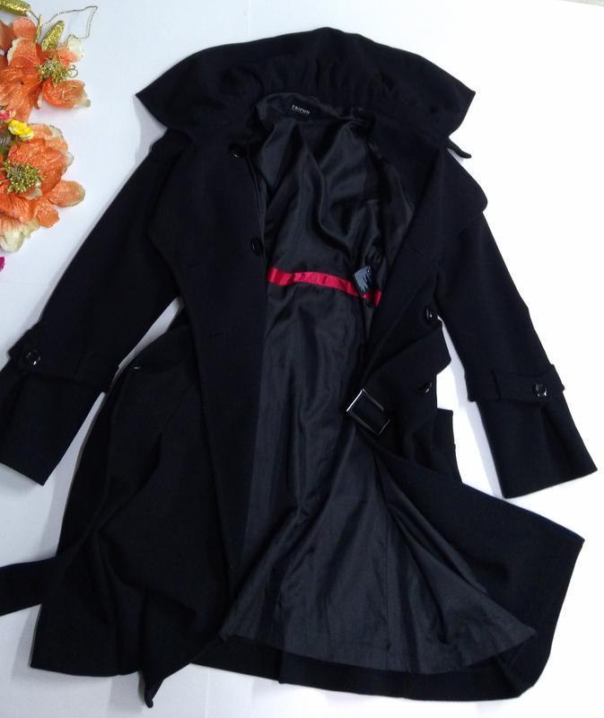 Пальто весна - осень на пуговицах размер 44 - Фото 8