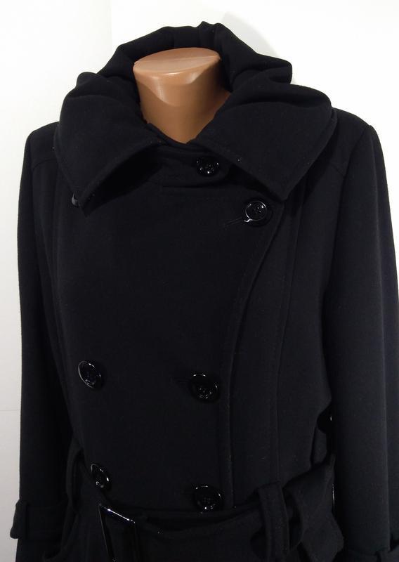 Пальто весна - осень на пуговицах размер 44 - Фото 9