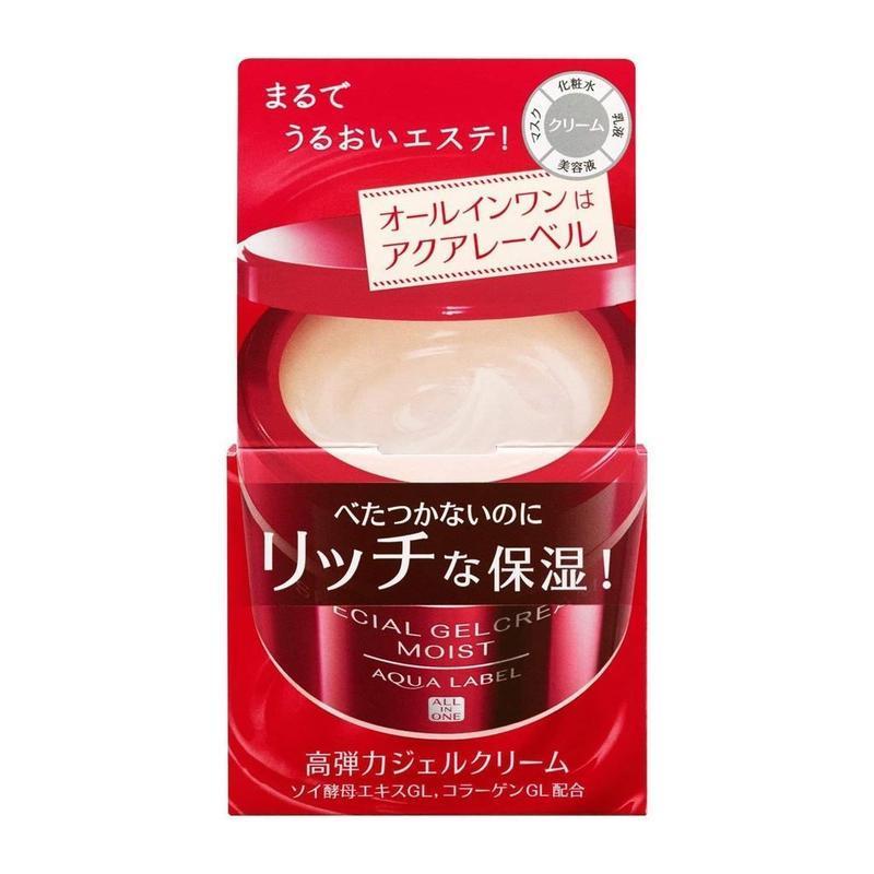 Увлажняющий коллагеновый крем-гель shiseido aqualabel gel crea...