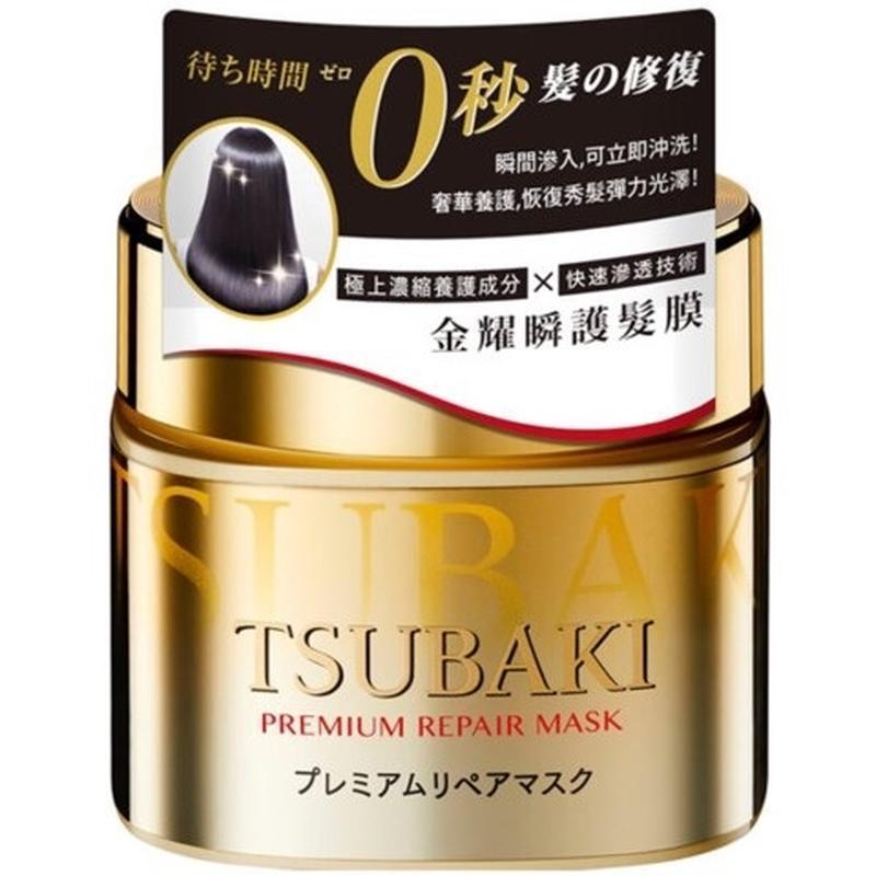 Маска премиум для волос восстанавливающая shiseido tsubaki pre...