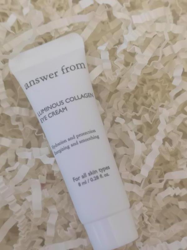 Крем под глаза с коллагеном answer from collagen eye cream, 8 мл - Фото 2