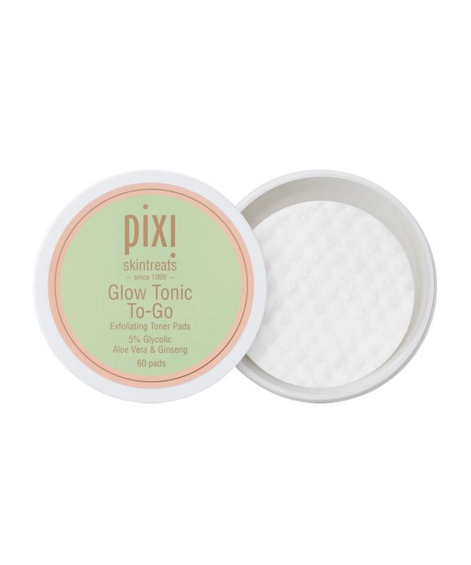 Очищающие диски с гликолевой кислотой pixi glow tonic to go, 6...
