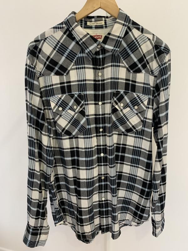 Рубашка сорочка мужская levi's levis оригинал