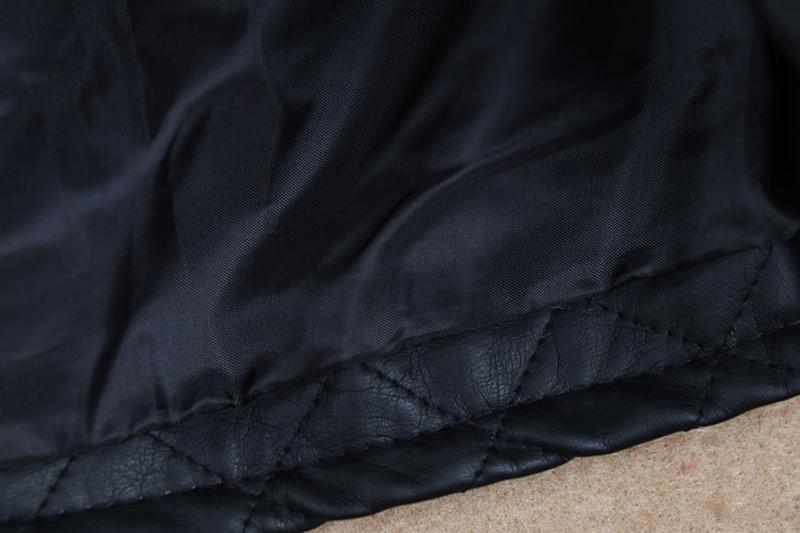 Zara  стильная юбка из искусственной кожи - Фото 4